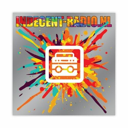 Indecent-Radio Stickers Rad-Sticker