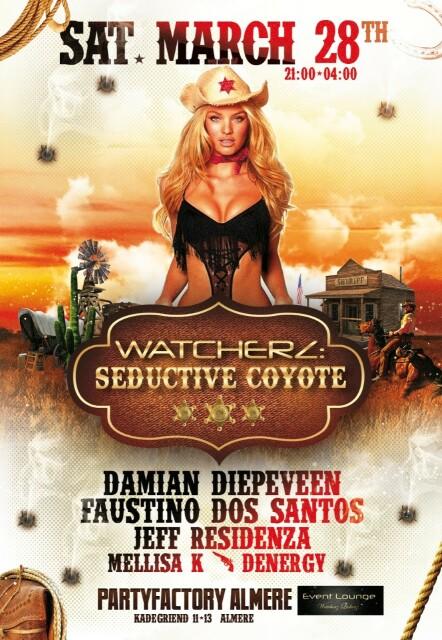 Seductive Coyote PartyFactory-Almere